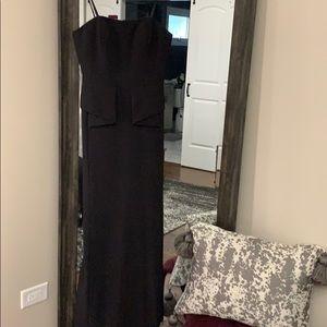 Aidan Mattox Black Formal Dress